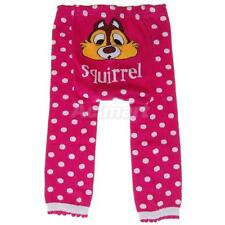 Cute Baby Infant Toddler Tights Leggings Socks Pants - Squirrel Dotted Print M L