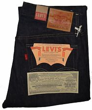 "Levi's Men's 1954 501Z XX Jeans Rigid #501540068 Big ""E"" Selvedge Raw Denim"