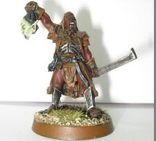 Lord Of The Rings - Metal Captain Ugluk!  Warhammer Figure (read Description)