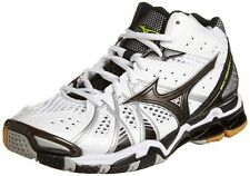 Mizuno Volleyball Shoes WAVE TORNADO 9 MID V1GA1415 White & Black With Tracking