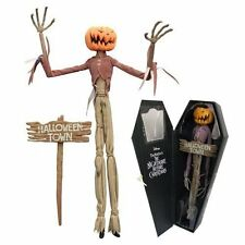 Nightmare Before Christmas Pumpkin King Jack Coffin Doll Diamond Collection Doll