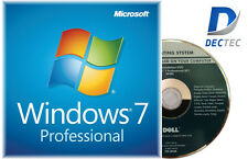 GENUINE Windows 7 Professional 64bit Full Version DVD & COA Product Key  ANY PC