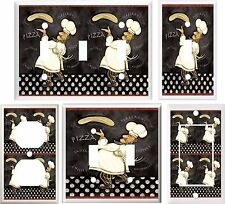 FAT CHEF KITCHEN DECOR LIGHT SWITCH COVER PLATE OR OUTLET V833