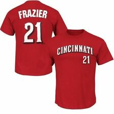 Cincinnati Reds Todd Frazier #21 MLB Majestic Mens Player Shirt Red Big Sizes