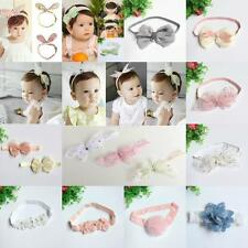 Girl Baby Toddler Infant Rose Flower Headband Hair Bow Band Accessories Hairband