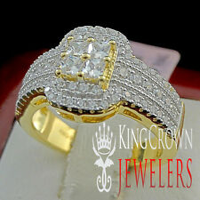 Pure 925 Silver Infinity Style Ladies Bridal Lab Diamond Promise Engagement Ring