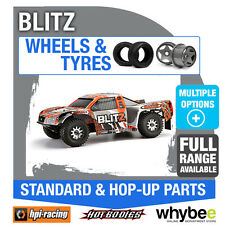 HPI BLITZ [Wheels & Tyres] Genuine HPi 1/10 R/C Standard / Hop-Up Parts