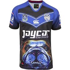 Canterbury Bulldogs 80years 2015 Auckland 9's NRL jersey mens size 7XL