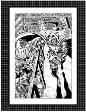 FANTASTIC FOUR #200 PAGE 13 ART BY KEITH POLLARD ORIGINAL PRODUCTION PROOF PAGE
