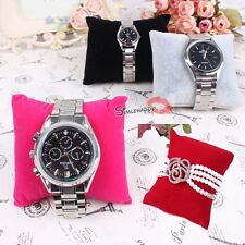 Velvet Watch Bracelet Bangle Jewelry Display Pillow Cushion Holder Fram For Gift