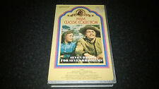 Seven Brides For Seven Brothers MGM Pre Cert VHS Rare!! UK Free Postage!!