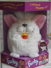 FURBY #70-800 WHITE in SEALED - NEW Condition From TIGER Electronics - 1998