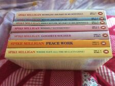 Spike Milligan - The Entire Complete War Memoirs x7 Book Collection