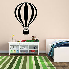 Hot Air Balloon Wall Decal Modern Home Stickers Removable Sticker Home Deco