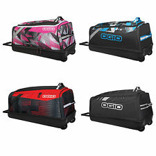 OGIO Shock Rolling Gear Bag telescopic handle reinforced wheels