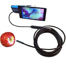 5.5mm/ 7mm Android Phone Endoscope IP67 Inspection Borescope HD LED Camera video
