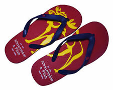 A&F Abercrombie & Fitch Mens Flip Flops Pool Beach Sandals Slippers Size UK 8-11