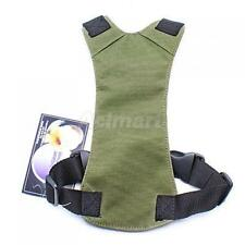 DOG PET ADJUSTABLE CAR VEHICLE SEAT SAFETY BELT HARNESS LEAD HARNESS ARMY GREEN