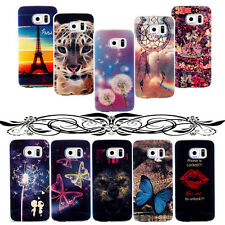 Case Cover Pattern Phone Back Skin For Samsung Galaxy Models Soft Rubber Protect