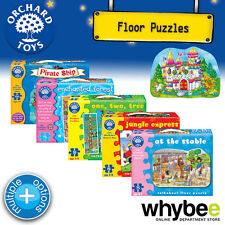 New! Orchard Toys Shaped Floor Puzzles Jigsaws - British Made - Kids Childrens