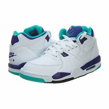 NIKE Authentic Men's Air Flight 89 306252-113 Basketball Shoes Sneakers White
