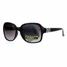 CG Eyewear Polarized Lens Sunglasses Womens Classic Square Frame UV 400