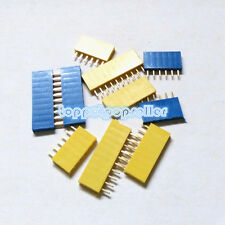 6/8/10Pin Single Row Female Pin Header 2.54mm Socket Connector for Arduino