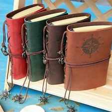 Vintage Classic Retro Leather Journal Travel Notepad Notebook Blank Diary Hot