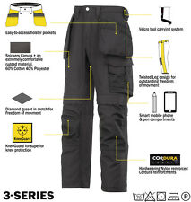 Snickers 3214 Trousers Canvas Holster Work Trousers Snickers Direct Black