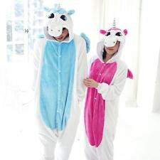 Hot UNICORN Unisex Adult Kigurumi Pajamas Anime Cosplay Costume Onesie Sleepwear