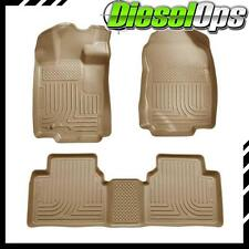 Husky Liners WeatherBeater Front/2nd Floor Mats Tan For Ford Fusion/Milan 10-12