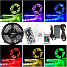 5M 5050 SMD RGB Flexible Strip LED Light Non Waterproof Muti color 12V led Lamp