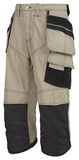 Snickers Trousers 3923 Rip-stop Pirate Work Trousers, SnickersDirect Khaki