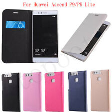 Luxury Flip Stylish PU Leather Case Cover Skin For Huawei Ascend P9/P9 Lite Hot