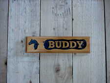 Stable Door Horse Signs, Reclaimed wood ,Carved Custom Signs & Plaques