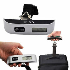 Portable 50kg/10g Digital LCD Electronic Luggage Hanging Weight Scale Hot HA