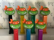 PEZ Teenage Mutant Ninja Turtles - Angry Michelangelo - Choose CHINA Stem Color