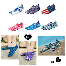 Skin Shoes Water Shoes Aqua Socks Yoga Exercise Pool Beach Swim Slip On Surf Y5R