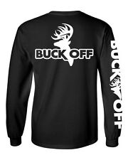 Buck Off Brand Long Sleeve Logo t shirt bow hunting apparel deer hunter apparel
