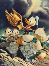 Oil Painting HD Print Wall Decor Art on Canvas,Donald Duck-81 (Unframed) 1PCS