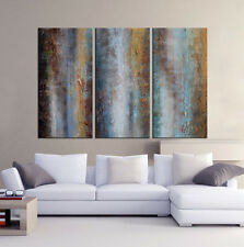 Handmade stretched canvas oil painting abstract modern wall art home decoration