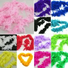 2M Fluffy Feather Boa Party Costume Dancing Home Wedding Perform Flower Decor