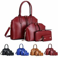 New Hot Women 4PCS set shoulder bag satchel handbag fashion handbags Purse