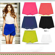 Plus Size Women Ladies Sexy Pants Summer Casual Shorts High Waist Shorts Skirts