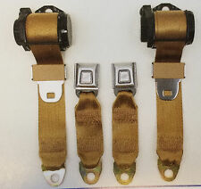 1978-1982 Corvette Economy Replacement Retractable Seat Belt Set
