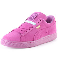 Puma Suede Classic Mono Ice Womens Trainers Pink New Shoes