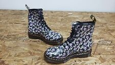 New Womens Dr. Martens 1460W Floral Soft Leather Ankle Boots Multi Sz (J105)