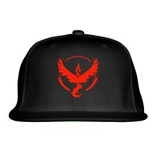 Team Valor Embroidered Snapback Hat By Customon