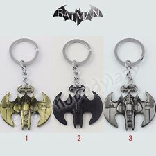 Super Hero Batman Logo Combo Batmobile Car Metal Pendant Key Ring Chain NewInBox