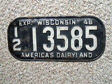 1946 1947 1948 1949 1950 1951 1952 Wisconsin car license plate 1946 ford?50 Ford